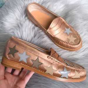 G.H. Bass & Co. NEW Penny Stardom Weejuns 5 Gold